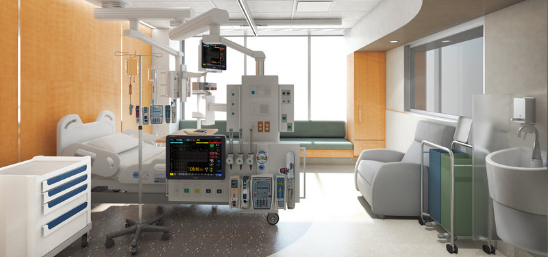 Future look at ICU room