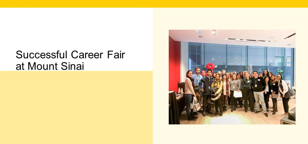 A Successful Career Fair at Mount Sinai