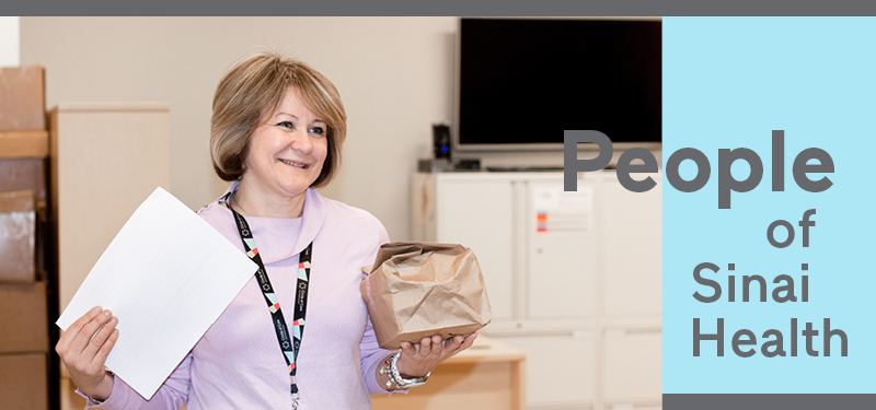 People of Sinai Health: Inna Dantchenko, Kosher Meals on Wheels Supervisor, Circle of Care