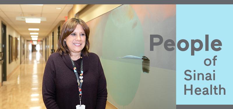 People of Sinai Health: Kim-Marie Meeker, Registered Nurse
