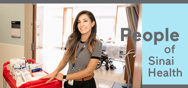 People of Sinai Health: Maria Becerra, Advance Practice Nurse