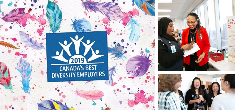 Sinai Health System recognized as one of Canada's Best Diversity Employers