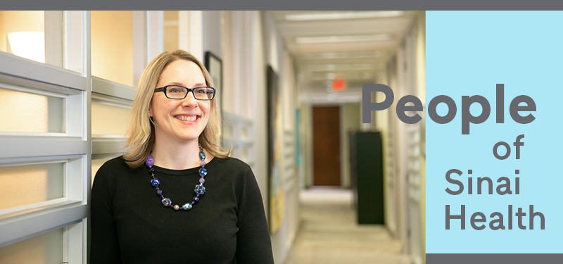 People of Sinai Health: Christina Lenz-Campbell, Director, Workforce Planning and Operational Readiness