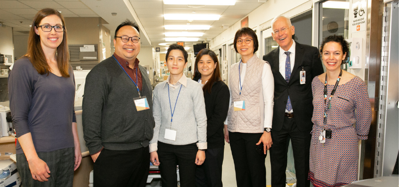 Delegation from Singapore visiting Mount Sinai