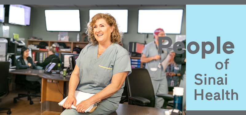 People of Sinai Health: Michelle Bailey, RN