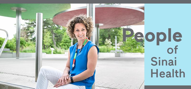People of Sinai Health: Krista Caulfield, Speech-Language Pathologist