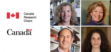 Image of new Canada Research Chairs