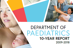 Department of Paediatrics 10 Year Report (2019)