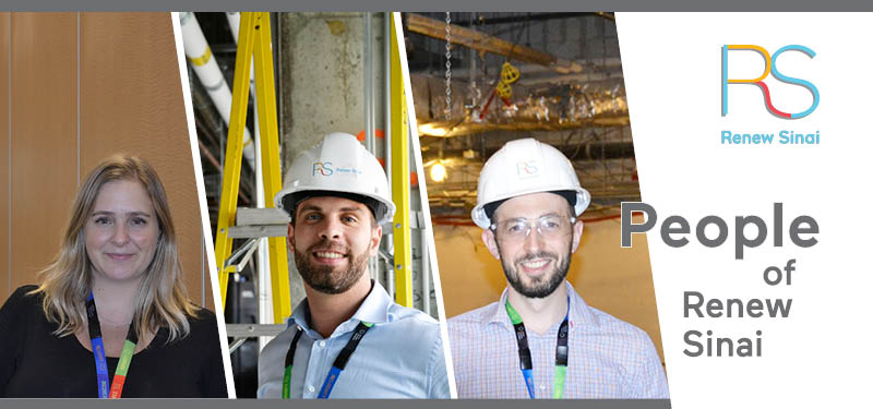 People of Renew Sinai: Meet our three Site Managers