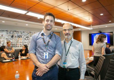 Dr. Kevin Barker with award sponsor Dr. Tony Mazzulli