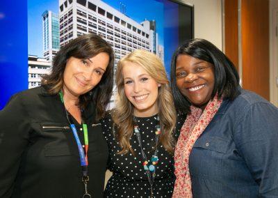 Nely Amaral, Katelyn Portelli and Angela Neish