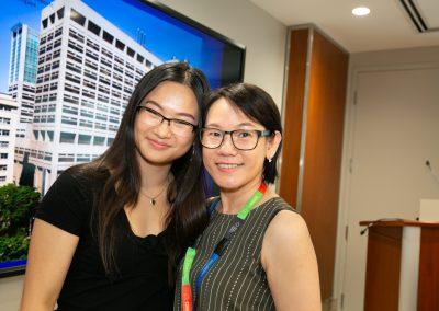 Vippy Chau and mom Belinda Au Dong