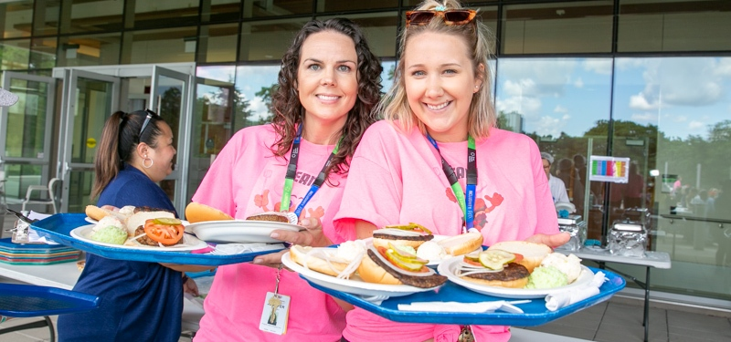 Celebrating summer at Bridgepoint's Patient and Family BBQ