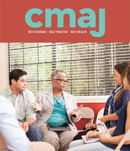 Cover of CMAJ August 2019