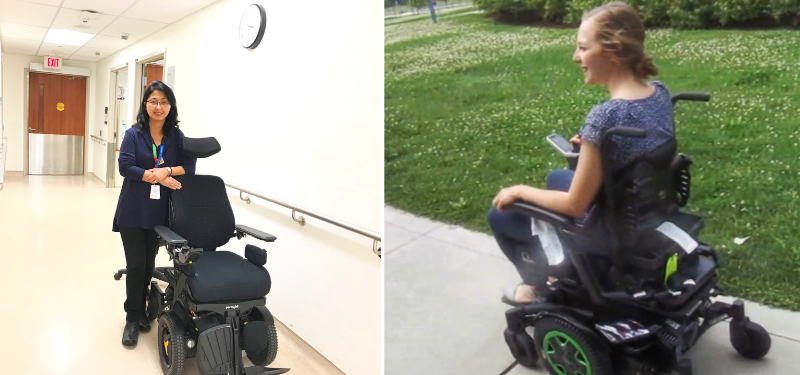 Working towards a smoother ride for power wheelchair users