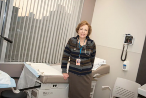 Image of Dr. Wendy Wolfan in her clinic