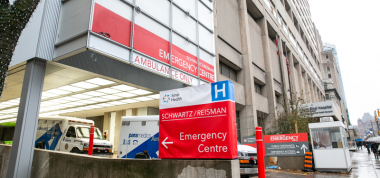 Image of Emergency Department driveway