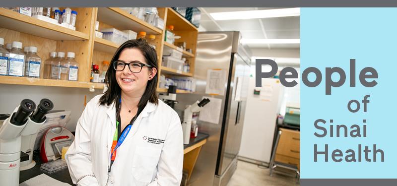 Photo of Krista Schleicher in Lab