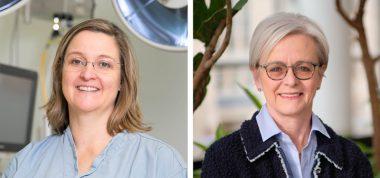 Drs. Erin Kennedy and Heidi Schmidt