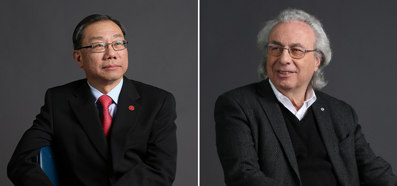 Image of Dr. Lee and Dr. Zinman