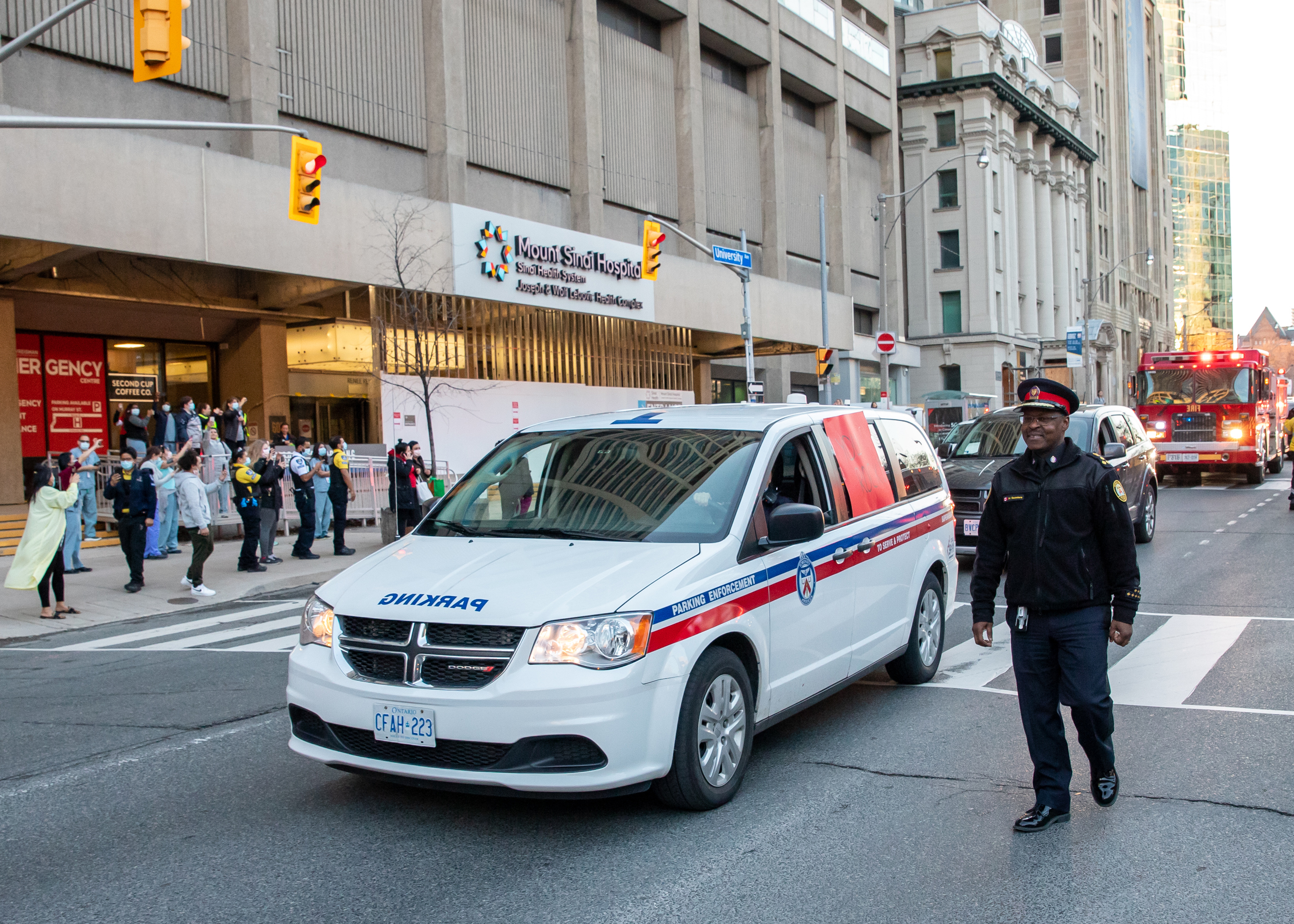 Vehicle at TPS Parade