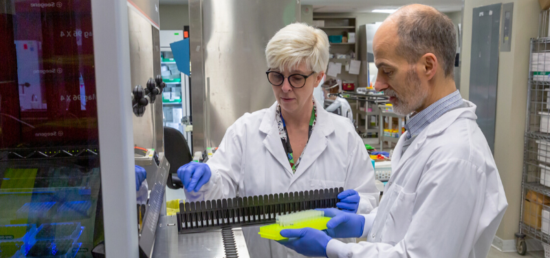 Sinai Health's Microbiology Lab tackles the COVID-19 testing crunch