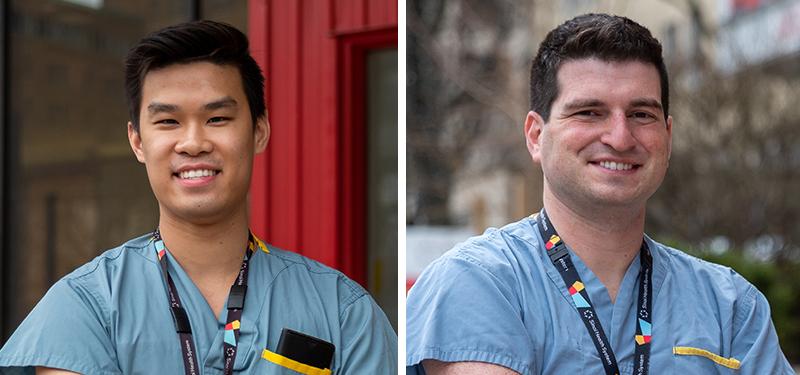 Drs. Bernard Ho and Elliot Lass