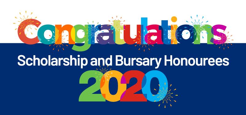 Scholarship and Bursary Honouree