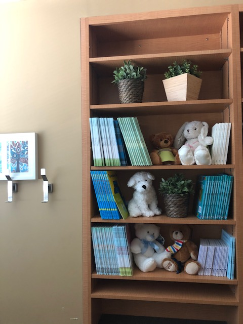 Mark's Grief & Bereavement Book Collection on the 15th floor at Mount Sinai Hospital