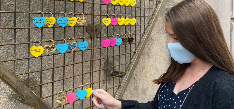 Sinai Health Foundation launches Love Locks as a colourful tribute to staff