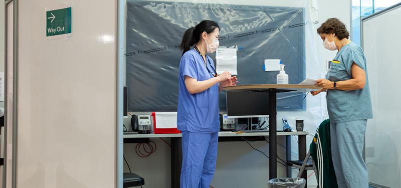A Look Back at Sinai Health's Pandemic Response