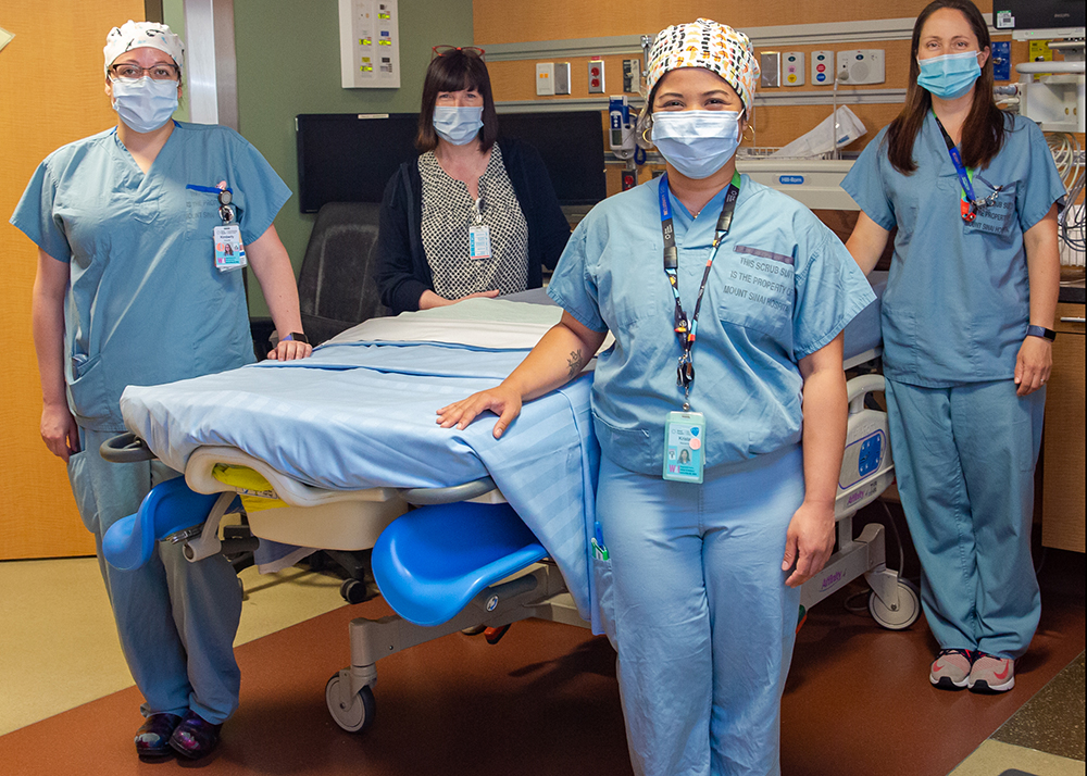 Mount Sinai's Labour and Delivery unit