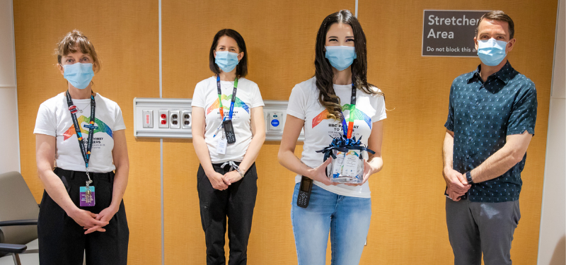 Innovative peer support program helps young adults visiting the emergency department