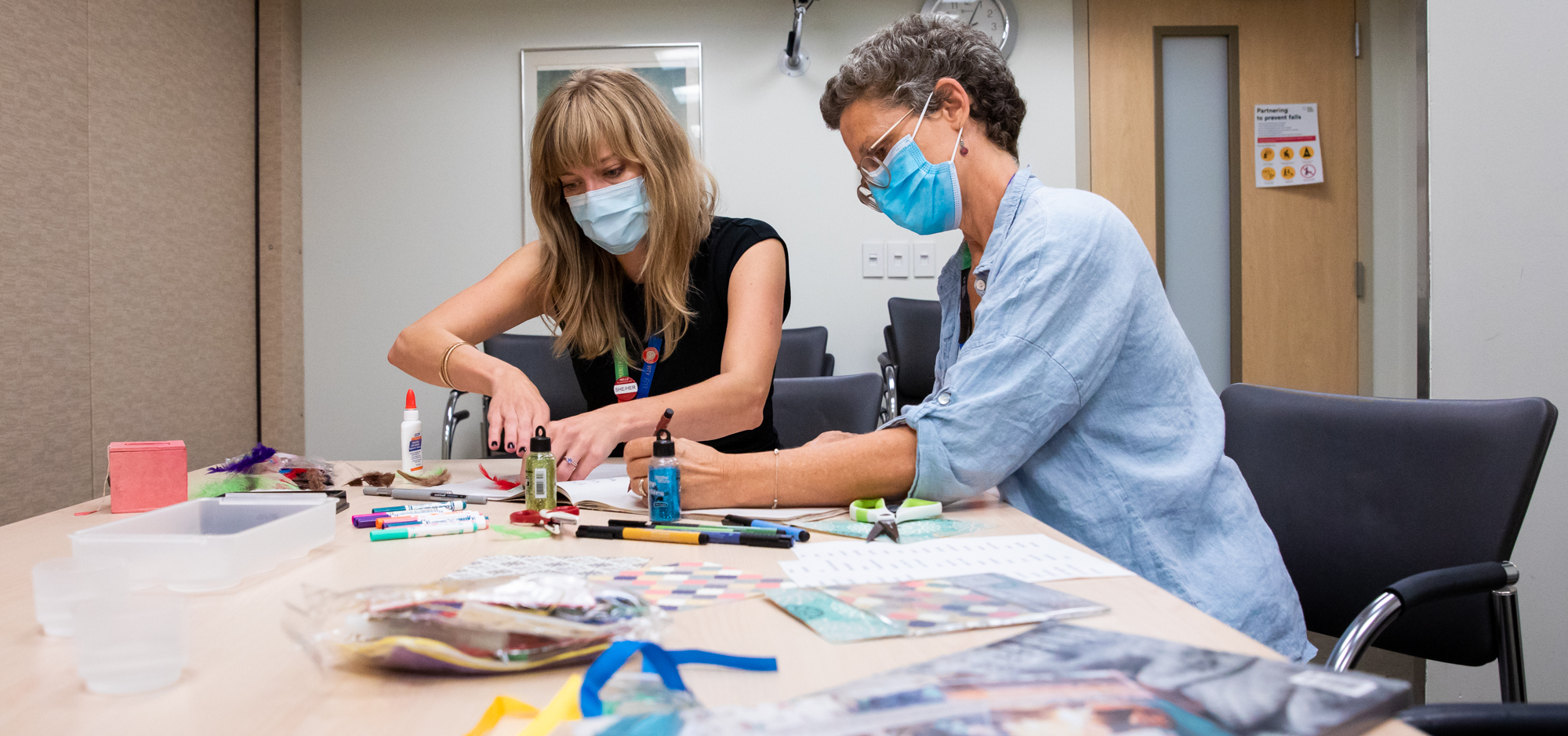 Arts-based program at Mount Sinai Hospital supports care partners of people with dementia